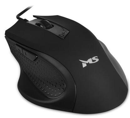 Slika MS WAVE_2 žičani miš, crni