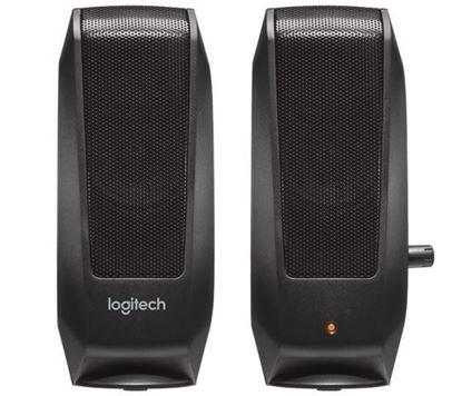 Slika Zvučnici 2.0 Logitech S120 crni