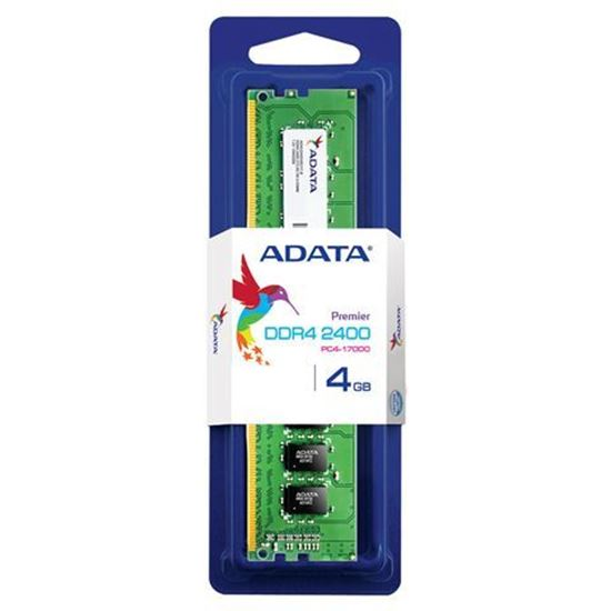 Slika Memorija Adata DDR4 4GB 2400MHz Single Tray