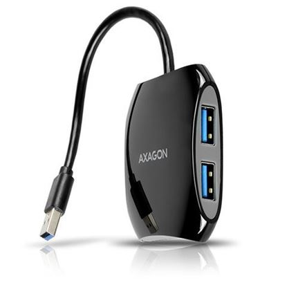 Slika AXAGON HUE-S1B 4 x USB3.0 USB HUB