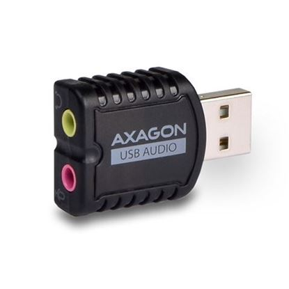 Slika AXAGON ADA-10 USB2.0 - Stereo Audio Mini Adapter