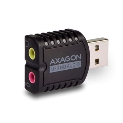 Slika AXAGON ADA-17 USB2.0 - Stereo HQ Audio Mini Adapter 24bit 96kHz