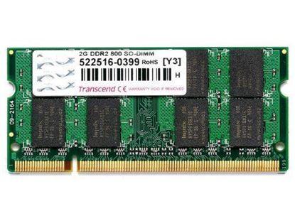Slika Memorija za prijenosna računala Transcend DDR2 2GB 800MHz