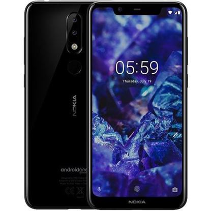 Slika MOB Nokia 5.1 Plus Dual SIM Black