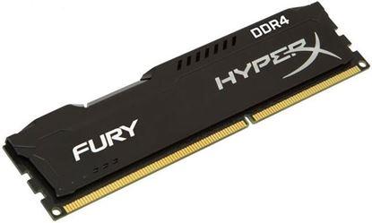 Slika Memorija Kingston DDR4 8GB 2666MHz HyperX Fury Black