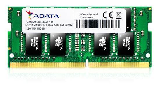 Slika Adata Memorija SO-DIMM DDR4 8GB 2400MHz za prijenosna računala