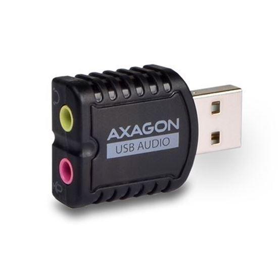 Slika AXAGON ADA-10 USB2.0 - Stereo Audio Mini Adapter