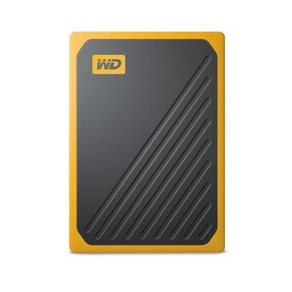 Slika Vanjski SSD WD My Passport™ Go Amber 500GB (žuta boja)