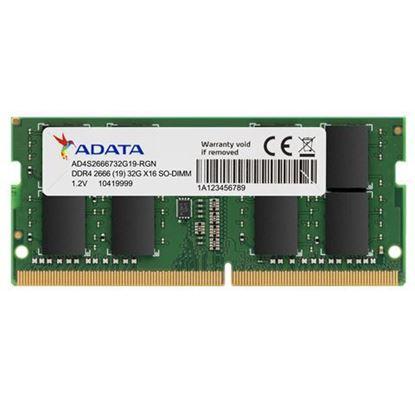 Slika Adata Memorija SO-DIMM DDR4 8GB 2666MHz za prijenosna računala