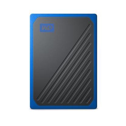 Slika Vanjski prijenosni SSD WD My Passport™ Go Cobalt 2TB (plava boja)