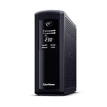 Slika CyberPower 1200VA/720W VP1200EILCD, line-int., Euro, desktop