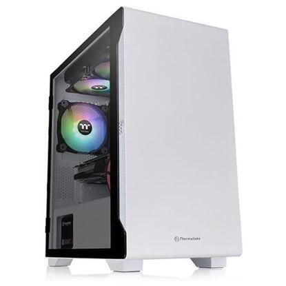 Slika Kućište Thermaltake S100 TG Micro Bijelo