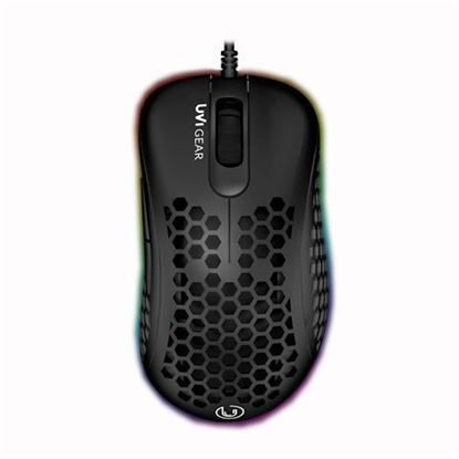 Slika Miš zičani UVI GEAR Lust Crni