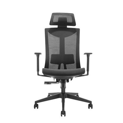 Slika Gaming stolica UVI CHAIR FOCUS - BLACK