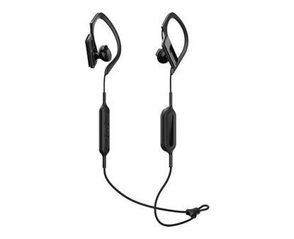 Slika PANASONIC slušalice RP-BTS10E-K crne, in ear, Bluetooth, sportske