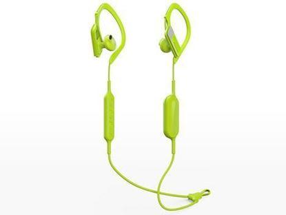 Slika PANASONIC slušalice RP-BTS10E-Y žute, in ear, Bluetooth, sportske