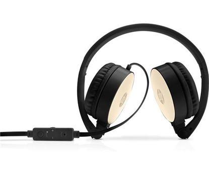 Slika HP slušalice za prijenosno računalo, zlatne, 2AP94AA
