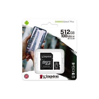 Slika MEM SD MICRO 512GB Canvas Plus + ADP