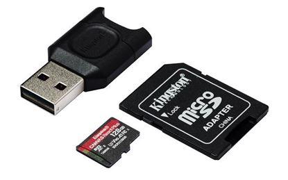 Slika Memorijska kartica SD MICRO 128GB Canvas React Plus + AD + CR