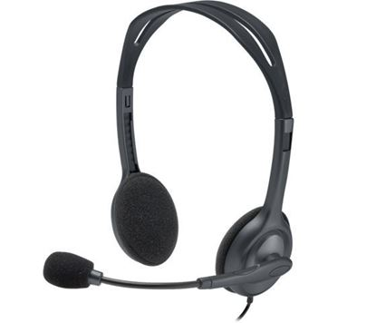 Slika Slušalice Logitech H111 black