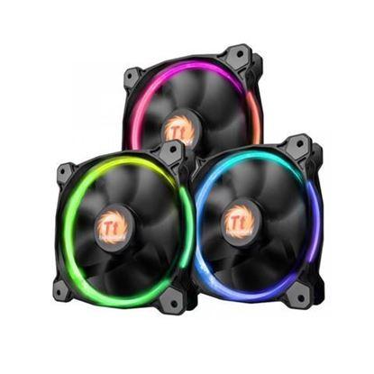 Slika Hladnjak za kućište Thermaltake Riing 12 RGB (3 komada)