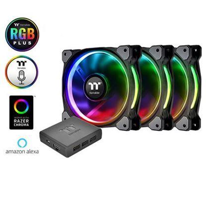 Slika Hladnjak za kućište Thermaltake Riing Plus 12 RGB (3 komada + HUB)