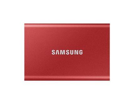 Slika Vanjski SSD 500GB Samsung Portable T7 Metallic Red USB 3.2