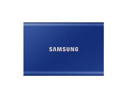 Slika Vanjski SSD 1TB Samsung Portable T7 Indigo Blue USB 3.2