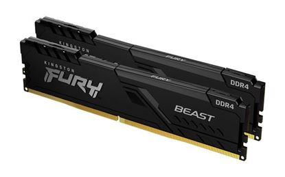 Slika MEM DDR4 16GB 3200MHz (2x8) Fury BEAST